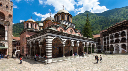 Rila Monastery Church