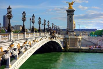 Pont Alexandre trois à Paris