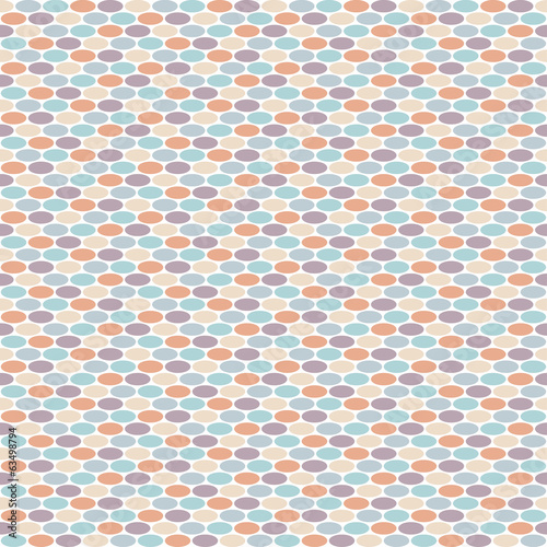 Pattern with mixed small spots n fresh colors. Seamless vector b