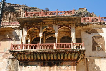 India - Jaipur - Temple Galta