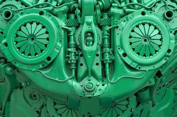 Engine parts.