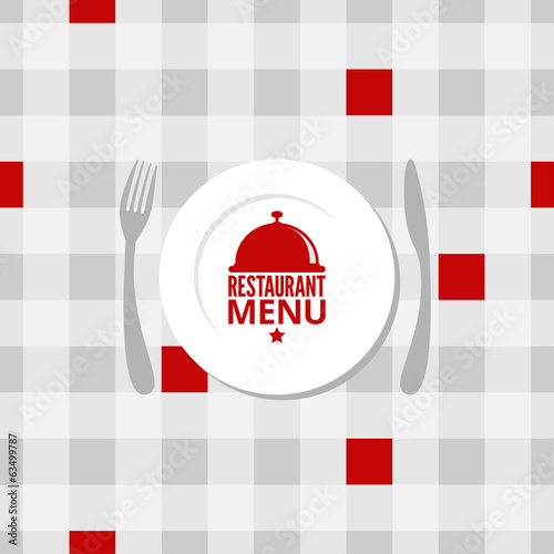 restaurant menu design background
