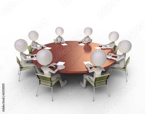 round-table talks
