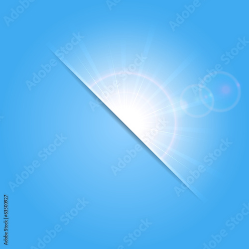 Abstract sunny background