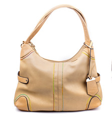 beige women's purse