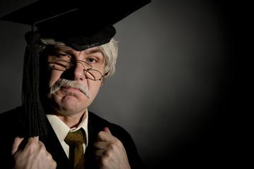 Grumpy Old Style English Headmaster
