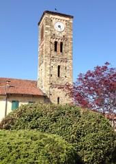 campanile del santuario della Consolata a Saluzzo