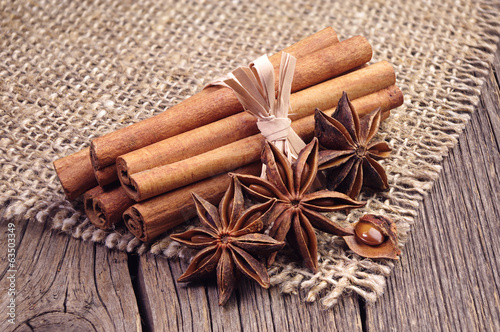 Cinnamon and anise