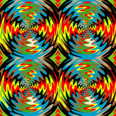Bright background with the optical illusion of rotation