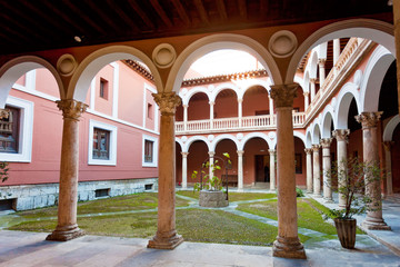 Old historic cloister