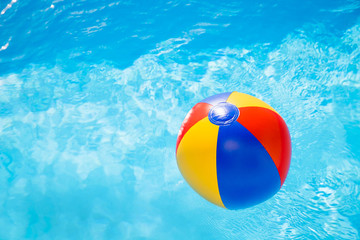 waterball in the pool 3
