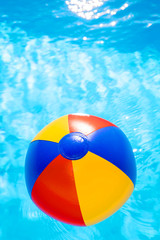 waterball in the pool 4