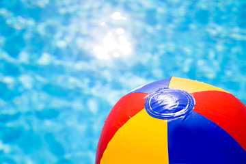 waterball in the pool 2