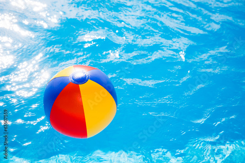 waterball in the pool 1