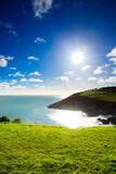 Irish landscape. coastline atlantic coast County Cork, Ireland