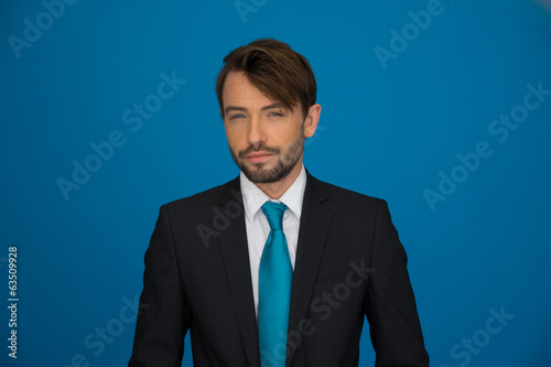 Portrait of an handsome confident businessman