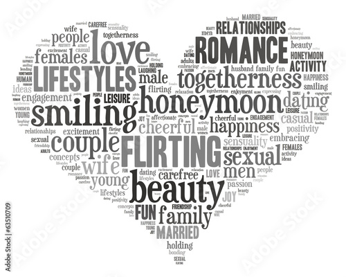 love concept word tag cloud