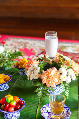 dessert for worship muslim wedding