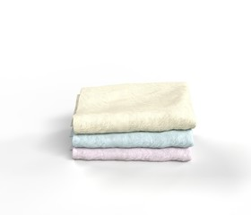 Pastel color Towels