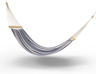 Hammock Isolated side view