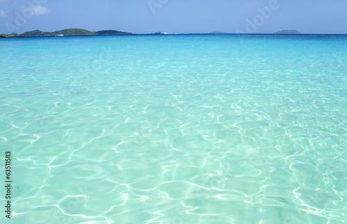 Plexiglas Golven Tropical Beach Ocean