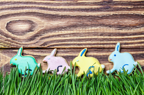 bunnies cookies to day Happy Easter