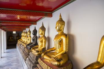 Buddha statue at Wat Pho temple. Bangkok, Thailand.