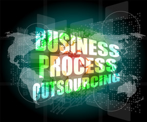 business process oursourcing interface hi technology
