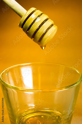 Honey Dripper Sweet Food Spreader Bee Sweet Food