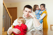Family of four after quarrel in home