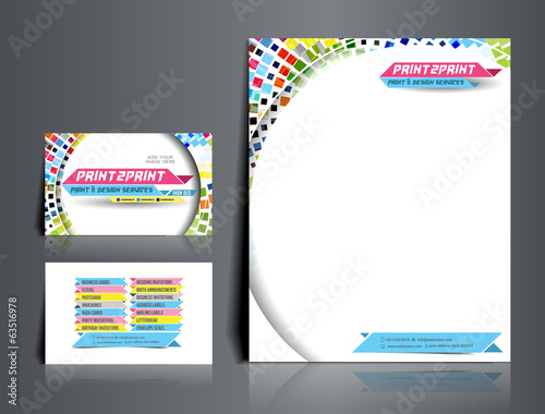 Print Shop Corporate Identity Template.