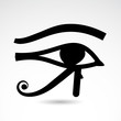 Horus eye - vector icon.