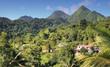 canvas print picture - Traumhafte Landschaft auf Dominica - Karibik