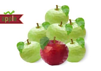 Polygonal apples