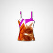 Abstract illustration on singlet