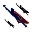 Super Heroes Flying