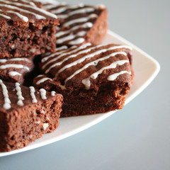 brownies al cioccolato e noci_ dolci