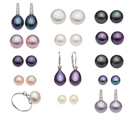 catalog of diferent pearl type