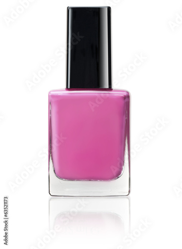 pink color of nail polish