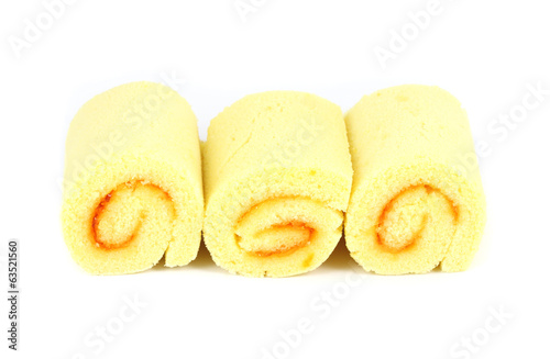 orange yam roll
