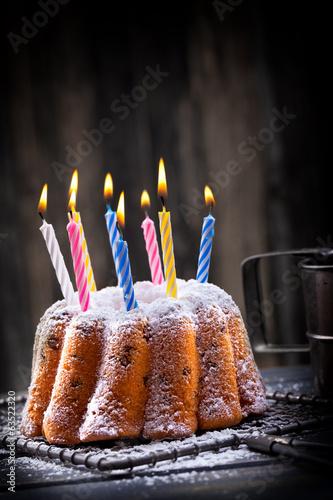 leckerer Kuchen zum Geburtstag