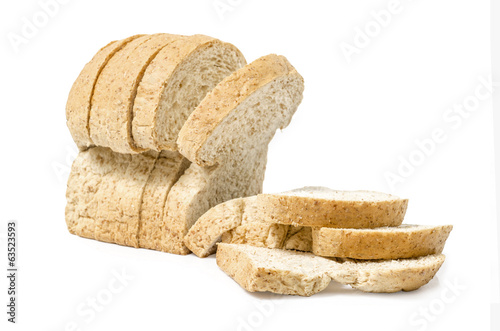 Image of a Breads  Brown Toast studio isolated