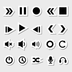 Player Icons Set as Labels