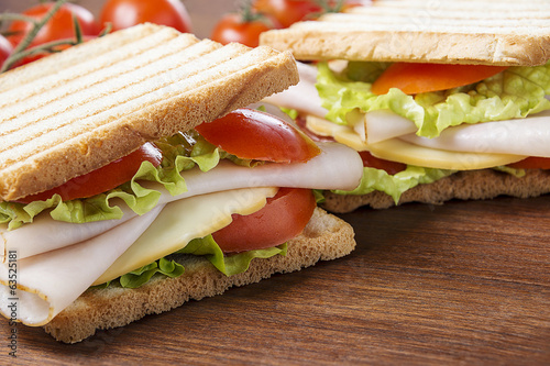 Delicious sandwiches