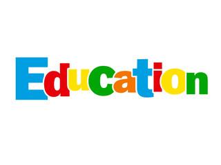 """Mosaïque de Lettres """"EDUCATION"""" (formation études enseignement)"""