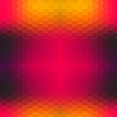 Vector grunge retro octagon background