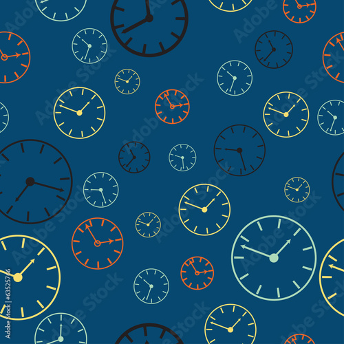Time abstract vector background illustration