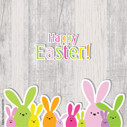Easter card - greeting card with copy space