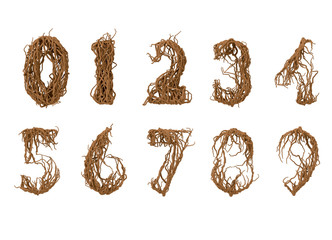 All numbers constructed from little branches