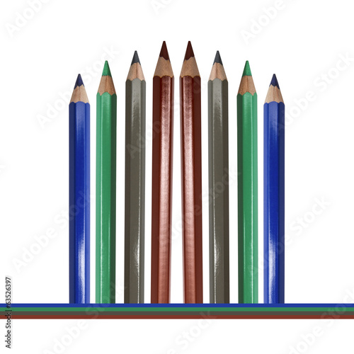 Corlor Pencils